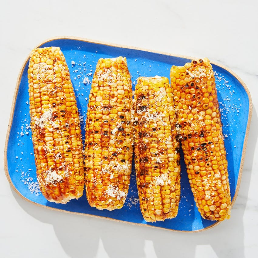 Grilled Corn on the Cob with BBQ-Honey Butter