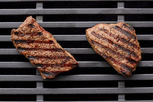 Grill the steaks