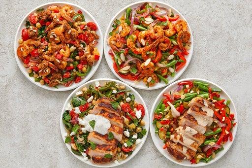Shrimp & Pork Chops Meal Prep Bundle
