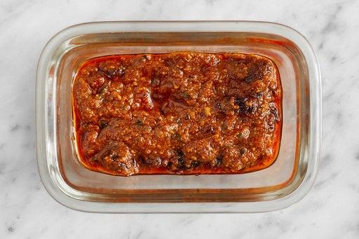 Make the Raisin Romesco Sauce