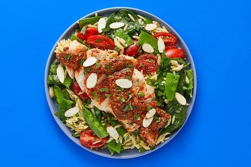 Finish & Serve the Spanish Chicken & Veggie Pasta