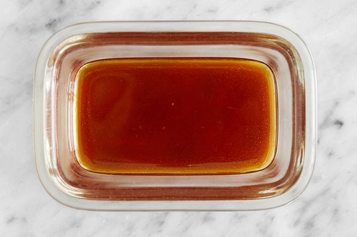 Make the Sesame-Soy Glaze