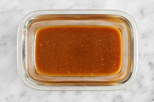 Make the Honey-Peanut Sauce
