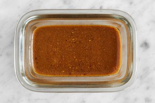 Make the Honey Mustard Sauce