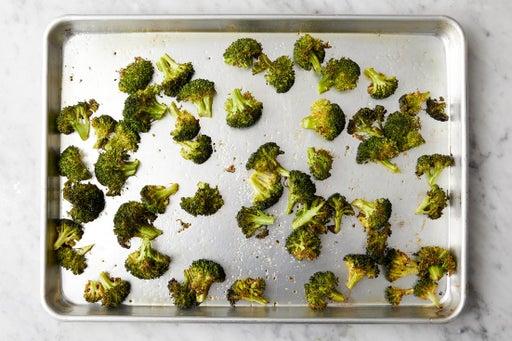 Prepare & roast the broccoli