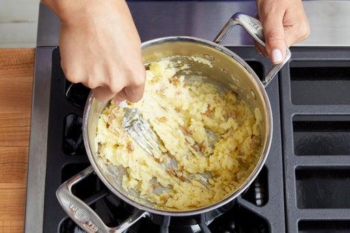 Cook & mash the potatoes