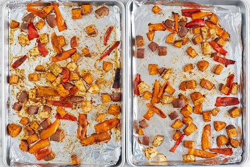 Roast the vegetables