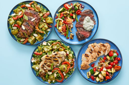 Grilled Steak & Chicken Meal Prep Bundle