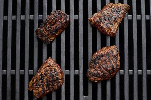 Grill & slice the steak