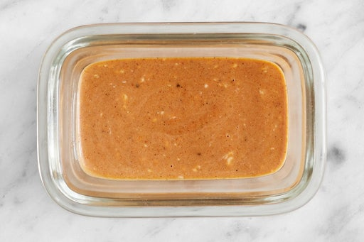 Make the Creamy BBQ Sauce