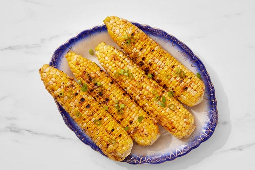 Grilled Corn on the Cob with Togarashi-Ginger Butter