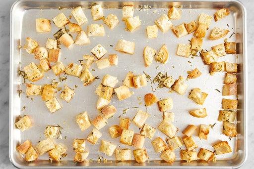 Make the croutons
