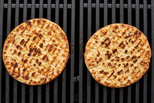 Toast the pitas