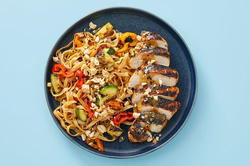 Finish & Serve the Soy-Miso Chicken