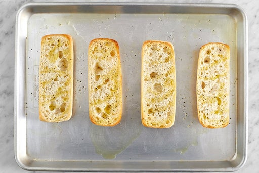 Toast the rolls
