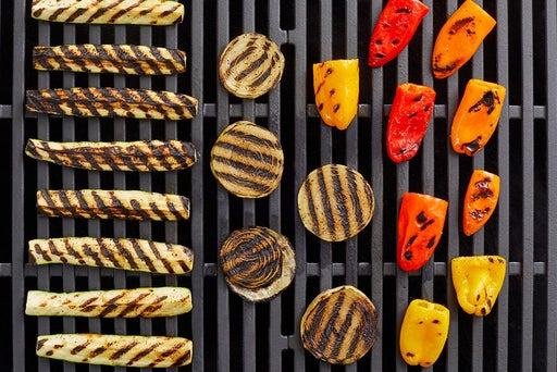 Grill & finish the vegetables