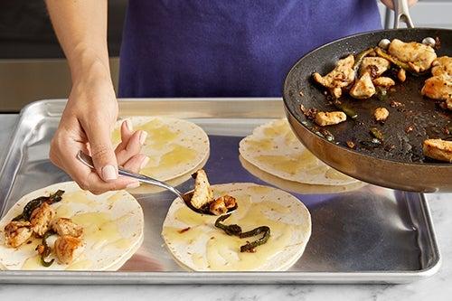 Assemble the tacos & serve your dish