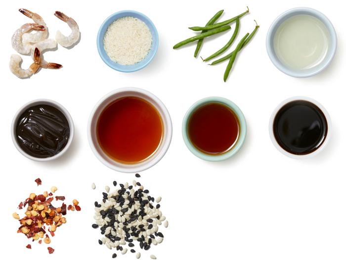 Teriyaki Shrimp & Green Beans with Jasmine Rice