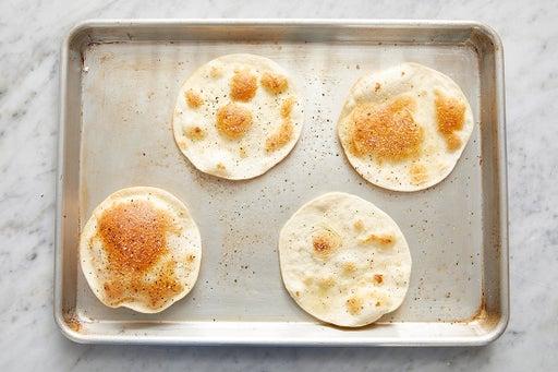 Toast the tortillas