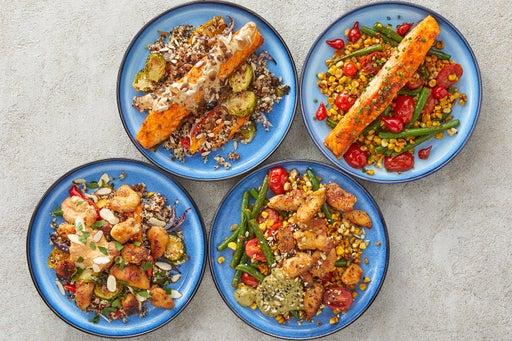Chicken & Salmon Meal Prep Bundle