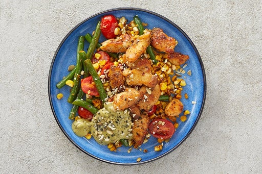 Finish & Store the Sautéed Chicken & Vegetables