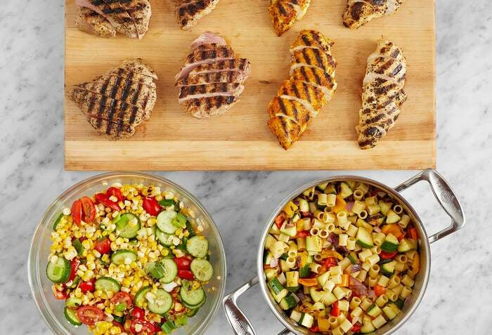 Grilled Pork & Chicken Meal Prep Bundle