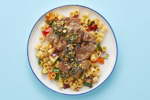 Finish & serve the Italian Pork