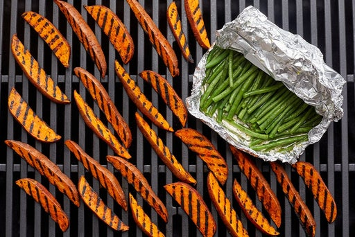 Grill the vegetables