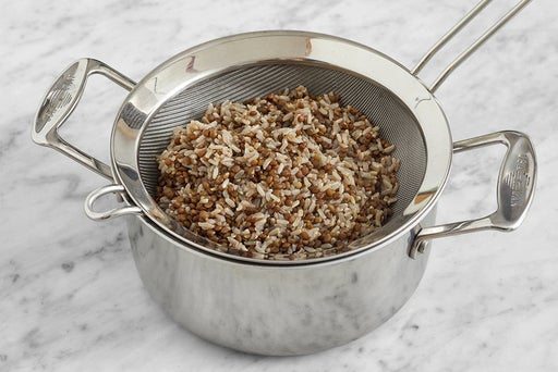 Cook the lentils & rice