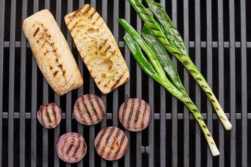 Grill the baguette & vegetables