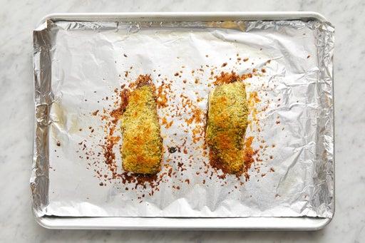 Roast the fish