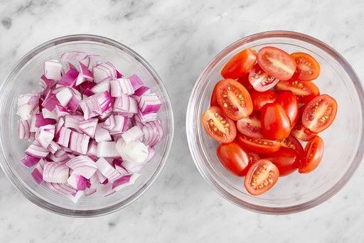 Prepare the remaining ingredients