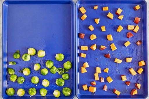 Prepare the vegetables