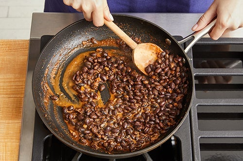 Cook the beans & serve your dish