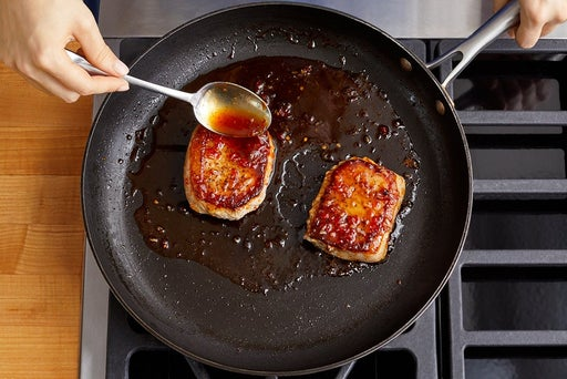 Cook the pork & serve your dish