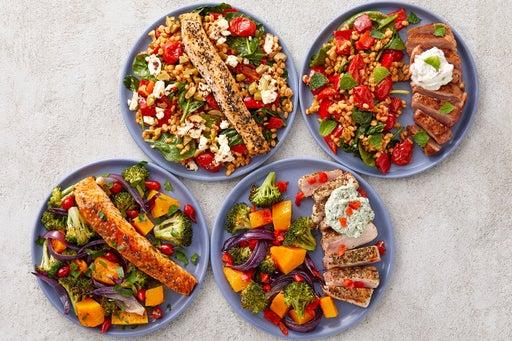 Salmon & Pork Meal Prep Bundle
