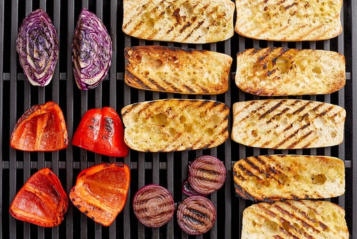 Grill the remaining vegetables