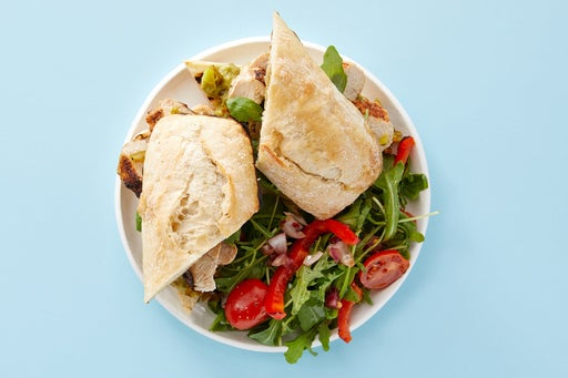 Finish & serve the Mexican Chicken Sandwiches
