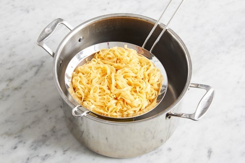 Cook the noodles & serve your dish