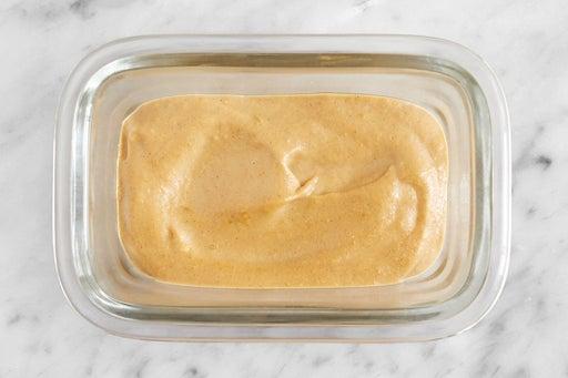 Make the Tahini-Dijon Sauce