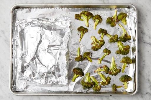 Bake the chicken & broccoli: