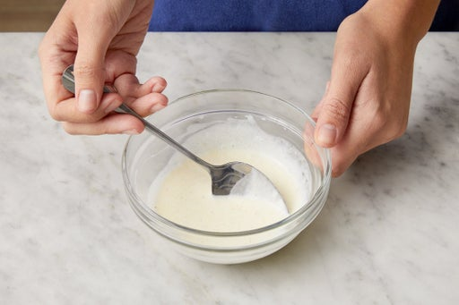 Make the creamy dressing