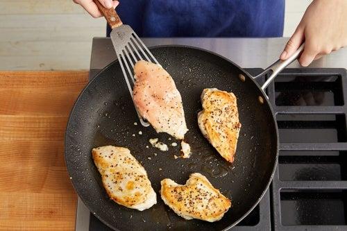 Cook & chop the chicken