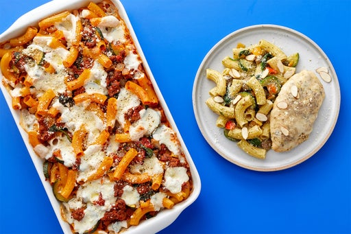 Family Meal Prep Bundle with Hot Italian Pork Sausage & Chicken