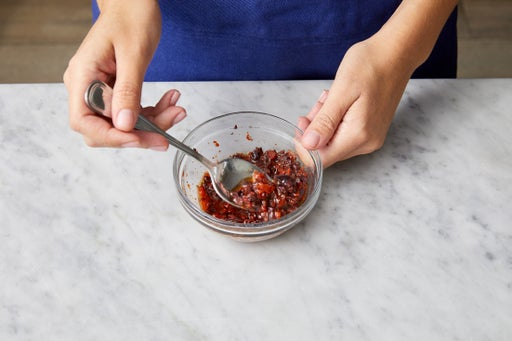 Make the tapenade: