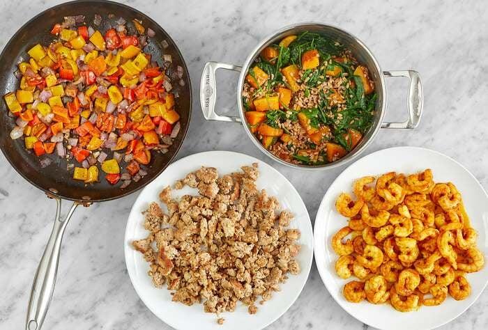 Wellness Meal Prep Bundle with Turkey & Shrimp