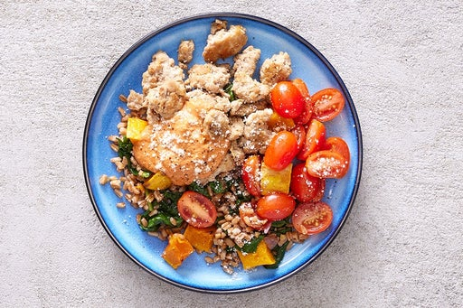 Finish & Serve the Turkey & Vegetable Farro