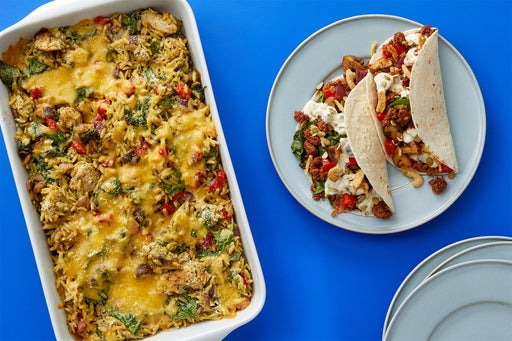 Family Meal Prep Bundle with Chicken & Chorizo