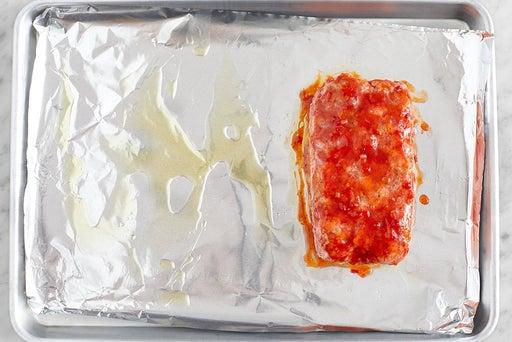 Form the beef meatloaf