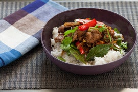 Filipino Adobo Pepper Steak with Okra and Carrots